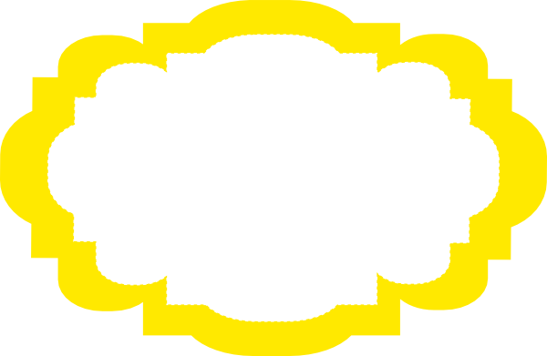 download this image as - Yellow Picture Frames