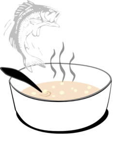 Fish Soup Clip Art