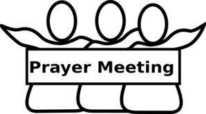 Prayer Meeting 2 Clip Art