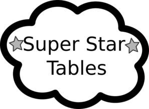 Super Star Table1 Clip Art