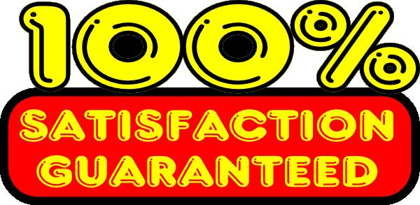 Satisfaction Guaranteed Sticker Clip Art At Clker Com