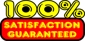 Satisfaction Guaranteed Sticker Clip Art
