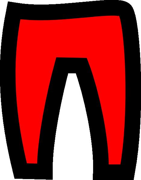 Red Trousers Clip Art at Clker.com - vector clip art ...