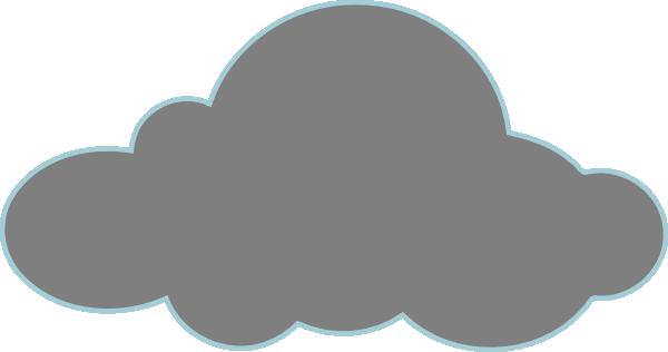 gray clouds clip art at clkercom vector clip art online