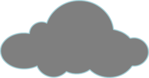 Gray Clouds Clip Art