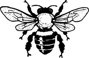 Queen Honey Bee Clip Art