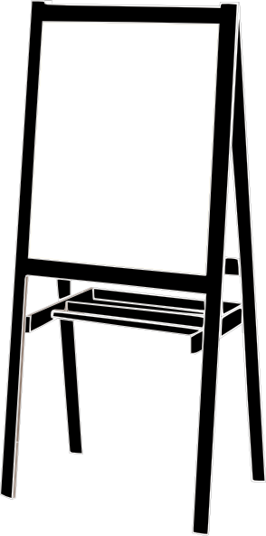 Easel Clip Art at Clker.com - vector clip art online, royalty free ...