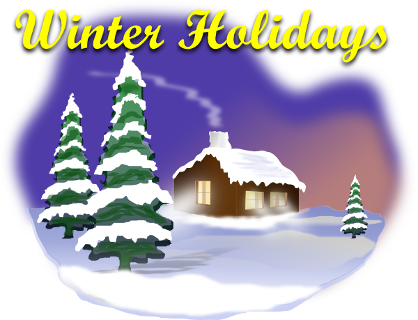 winter vacation clipart - photo #18