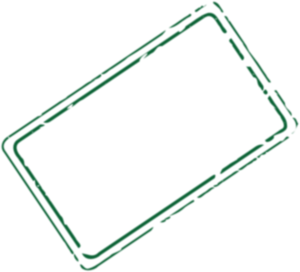 Green Rectangle Stamp Clip Art at Clker.com - vector clip ...