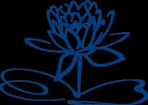 Lotus flower outline blue clip art at clker vector clip art lotus flower outline blue clip art mightylinksfo