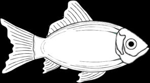 Cod Fish, White Clip Art at Clker.com - vector clip art ...