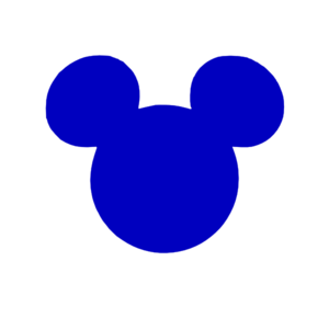 blue mickey head clip art at clker com vector clip art online rh clker com mickey head clip art free mickey mouse head clipart