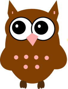 brown owl clip art at clker com vector clip art online royalty rh clker com Hedgehog Clip Art brown owl clipart png