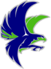 Woodinville Falcon G/w Outline Clip Art