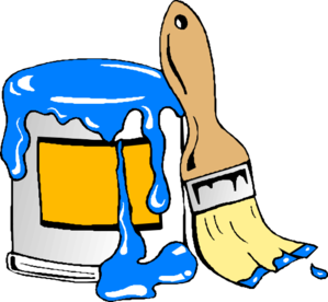 Paint Can Brush Clip Art