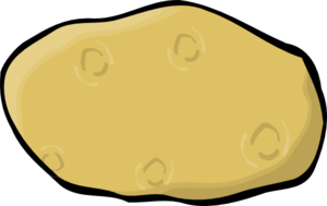 Potato Clip Art