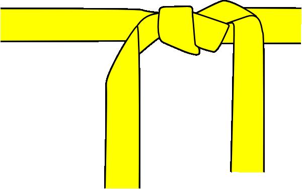 yellow belt clipart - photo #1