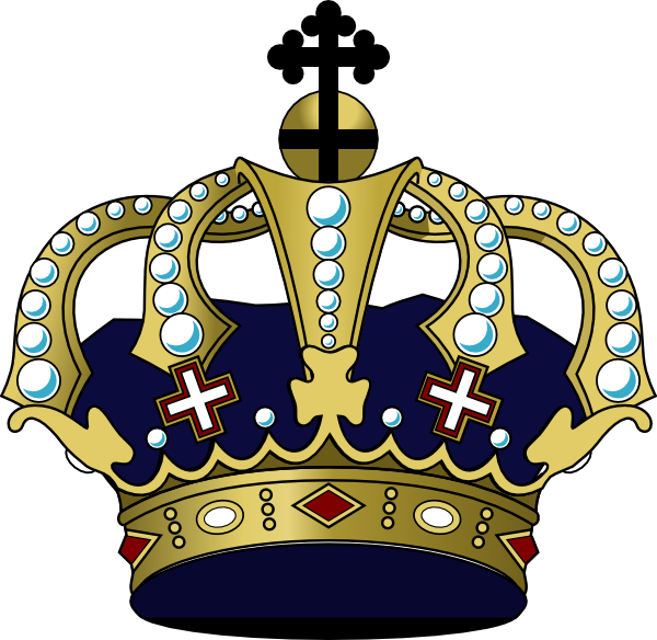 Crown Clip Art ... Free Cross And Crown Clipart