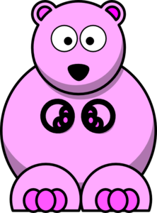 Pink Teddy Bear Clip Art