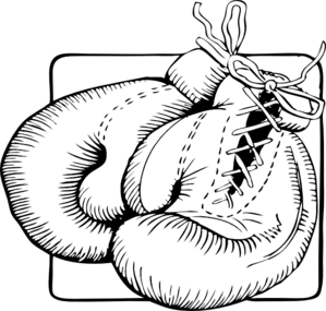 Large Boxing Gloves Clip Art