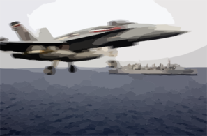 An F/a-18 Hornet Launches From The Flight Deck Aboard Uss Harry S. Truman (cvn 75) Clip Art