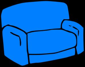 sofa clipart. blue sofa clip art clipart s