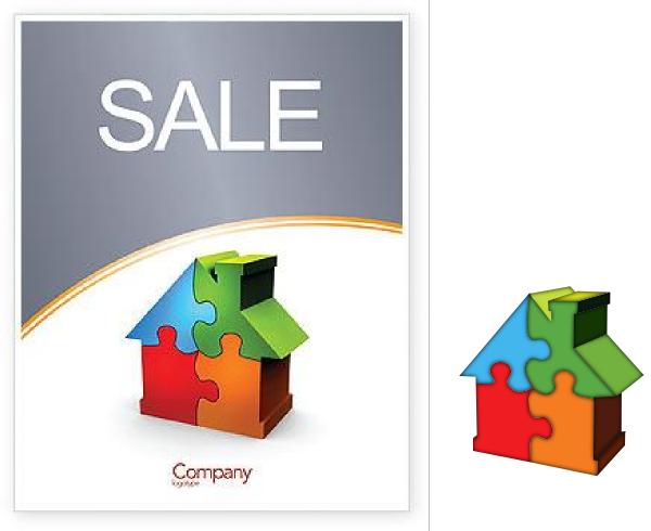 For Sale Sign Clipart. House For Sale clip art