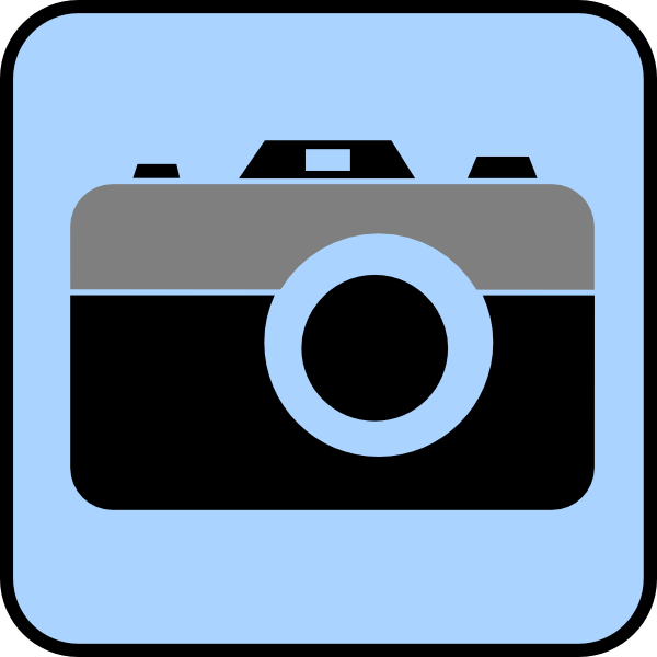 photography icon clip art at clker com vector clip art online rh clker com clip art photography free clip art photographs