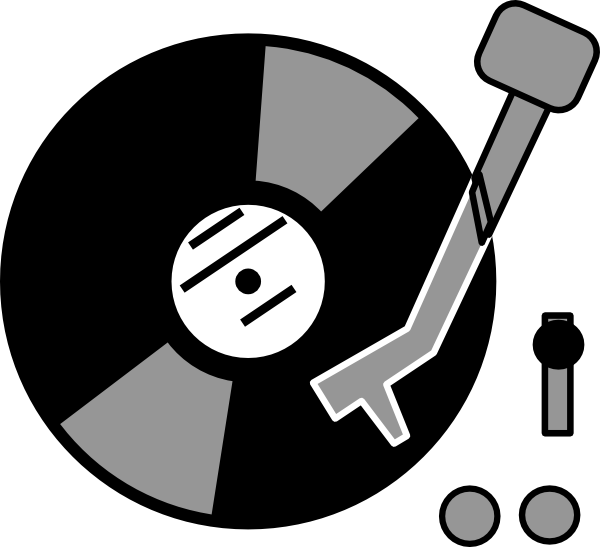 Record Player Clip Art at Clker.com - vector clip art online, royalty ...