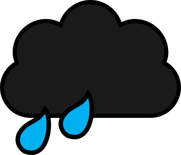 rain cloud clip art at clker com vector clip art online royalty rh clker com cute rain cloud clipart cloud rain clipart
