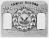 Family Record. American Allegiances Clip Art