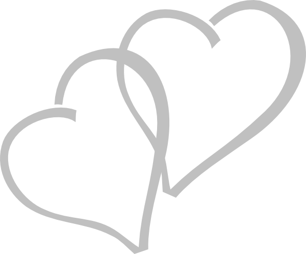 Silver Hearts Clip Art at Clker.com - vector clip art ...