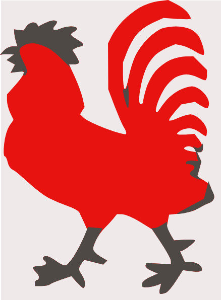 rooster clip art images - photo #14