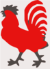 Red Rooster Clip Art