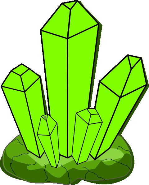Green Crystal Clip Art...