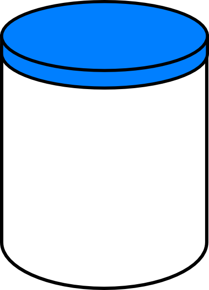 Plain Dream Jar clip art - vector clip art online, royalty free ...