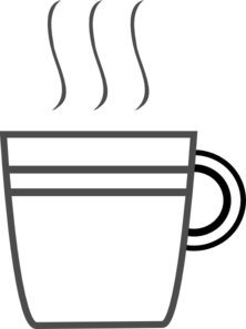 Coffee Cup Clip Art at Clker.com - vector clip art online, royalty ...