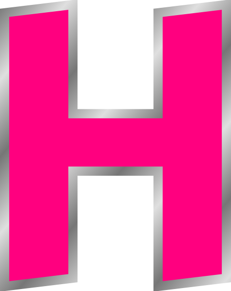 H Letter H Clip Art at C...