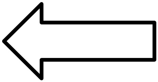 clipart arrow outline - photo #8