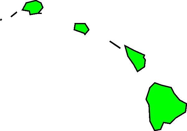 Hawaiian Islands Clip Art at Clker.com - vector clip art ...
