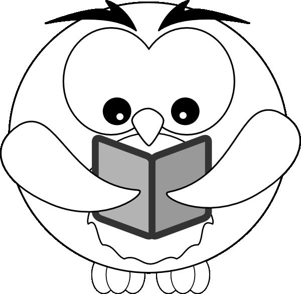 Owl Outline Clip Art at Clker.com - vector clip art online ...
