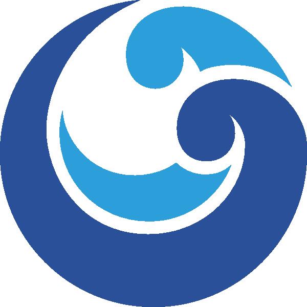 water swirl clip art at clkercom vector clip art online