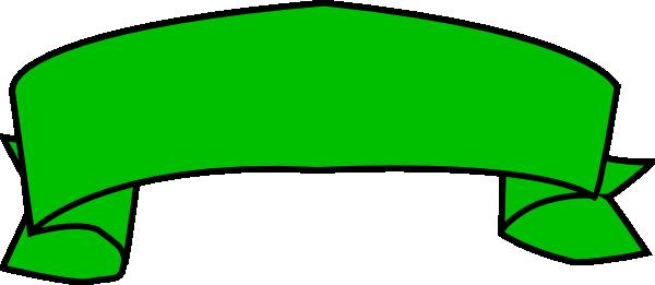 Green Banner Clip Art At Clker Com Vector Clip Art