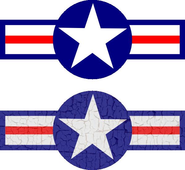 air force stripes and star clip art at clker com vector clip art rh clker com M Clip Art Merry Christmas Clip Art
