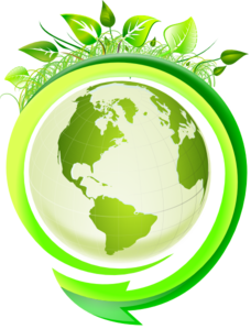 Green World Clip Art