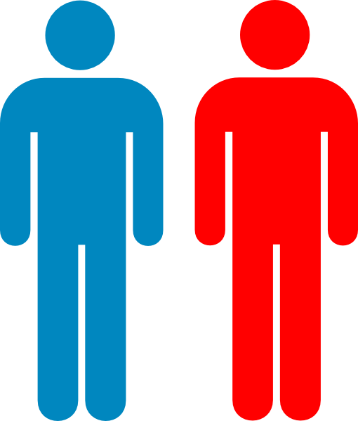 Blue And Red Person Symbol Clip Art at Clker.com - vector ...