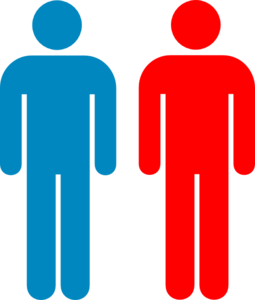 Blue And Red Person Symbol Clip Art at Clker.com - vector clip art ...
