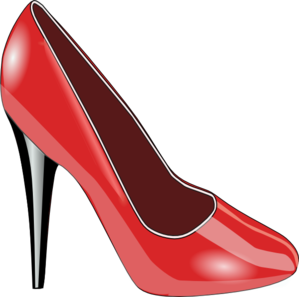 Red Shiny Shoes Clip Art
