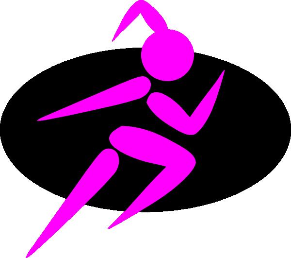 Finish Strong Running Girl clip artStrong Girls Clipart