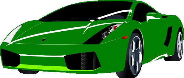 Green Sports Car Clip Art At Clker Com Vector Clip Art Online Royalty Free Public Domain